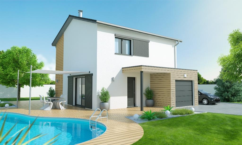 maison etage 3 chambres civrieux 01390 vente maison design et terrain villefranche sur sa ne est. Black Bedroom Furniture Sets. Home Design Ideas