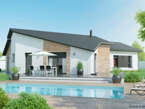 Maison plain pied 3 4 chambres construction maison plain pied contemplea design for Design de maison moderne