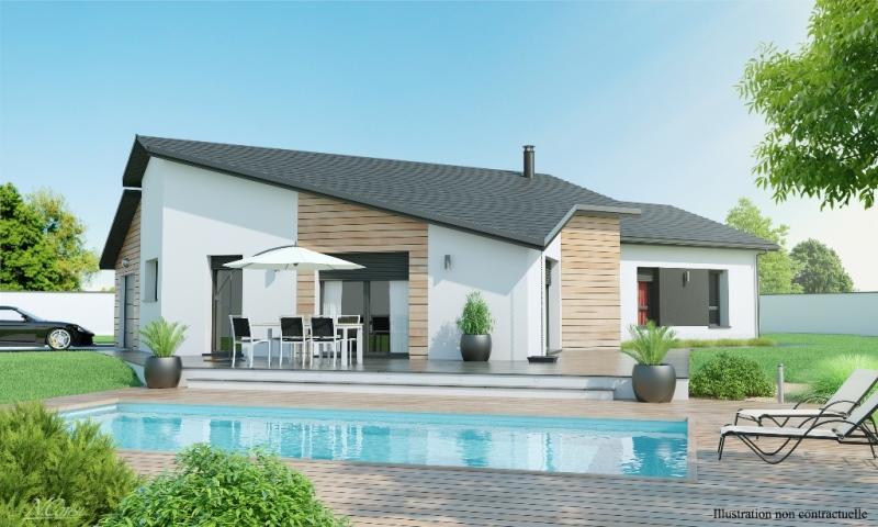 Maison plain pied 3 4 chambres construction maison plain pied contemplea design - Modele maison plain pied 4 chambres ...