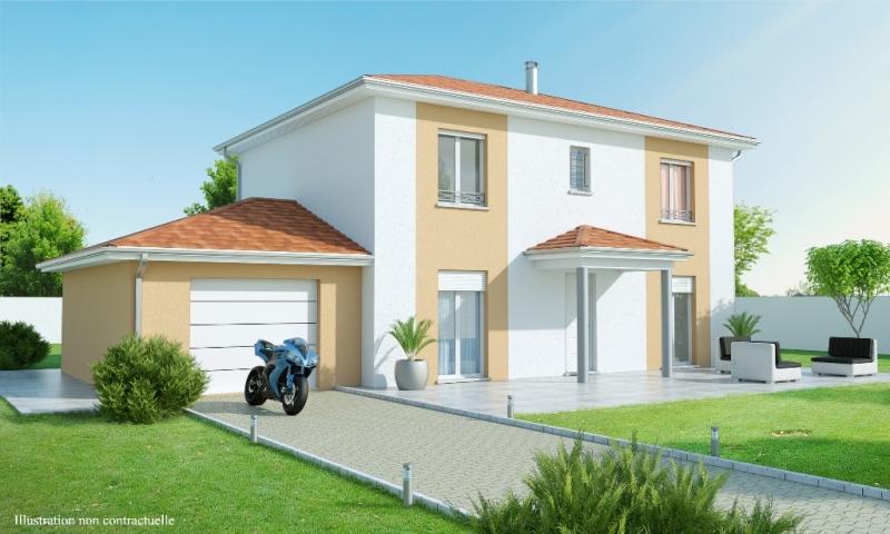 Maison etage 4 5 chambres construction maison for Maison traditionnelle 5 chambres