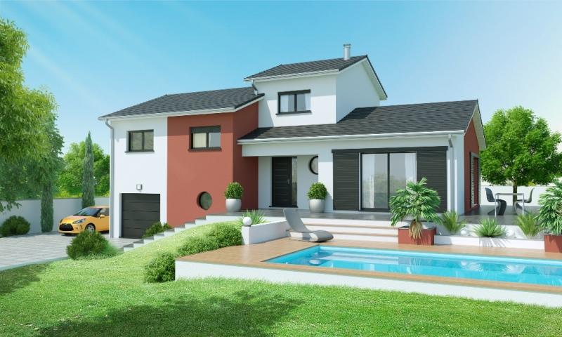 maison demi sous sol 4 chambres construction maison. Black Bedroom Furniture Sets. Home Design Ideas