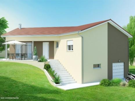 Maison 3 4 chambres avec sous sol construction maison for Modele maison avec sous sol complet