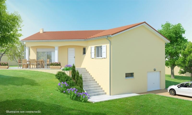 Maison 3 4 chambres avec sous sol construction maison for Plan maison contemporaine avec sous sol