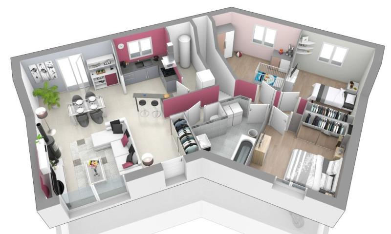 Plan De Maison En V Avec Sous Sol Infos Et Ressources 11