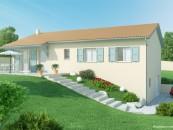 Maison avec sous sol maisons axial plan de maison avec for Modele maison avec sous sol complet