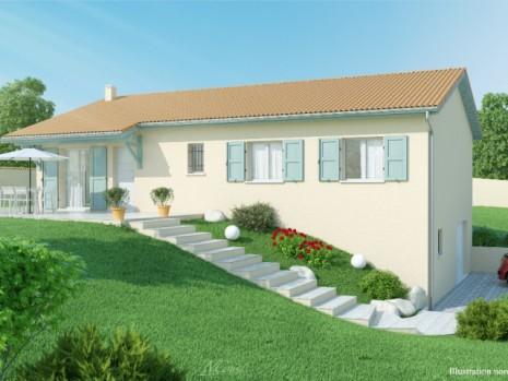 Maison 3 4 chambres avec sous sol construction maison for Maison neuve avec sous sol