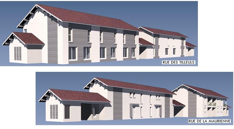 Maison etage 3 chambres chamb ry 73000 vente maison et for Terrain chambery